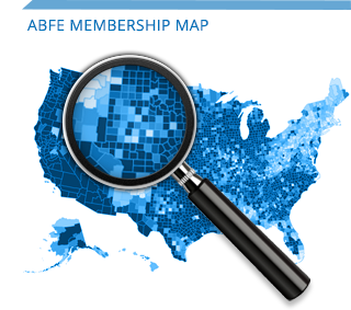 ABFE Membership Map
