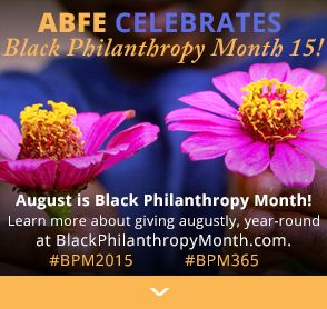Black Philanthropy Month 2015
