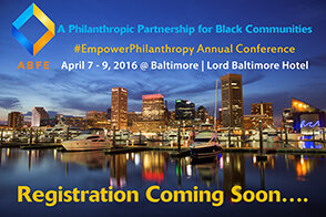 Save the Date ABFE Conference 2016