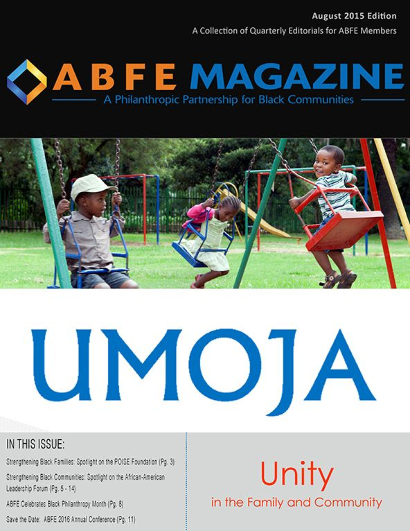 ABFE Magazine August 2015 Cover