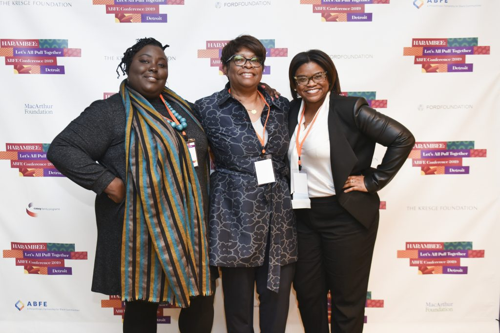 Three ABFE members at Harambee ABFE Conference 2020